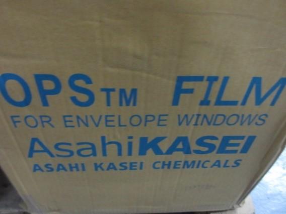 窓付き封筒の窓部分のフィルム