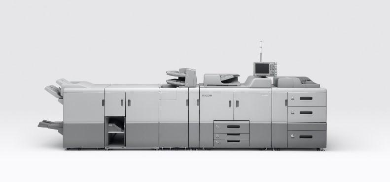 リコーのデジタル印刷機